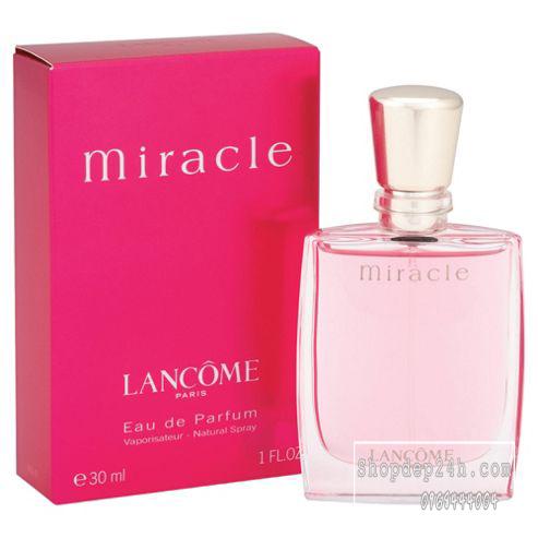 [Lancôme] Nước hoa mini nữ Lancôme Miracle eau de parfum 30ml