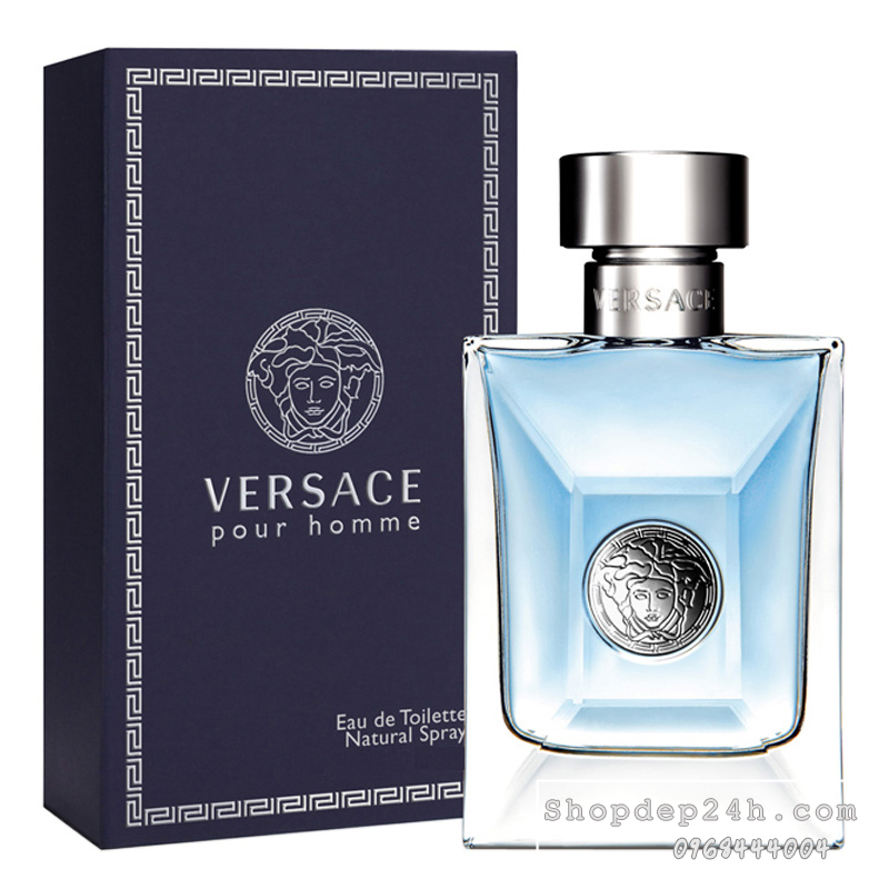 [Versace] Nước hoa nam Versace Pour Homme 200ml