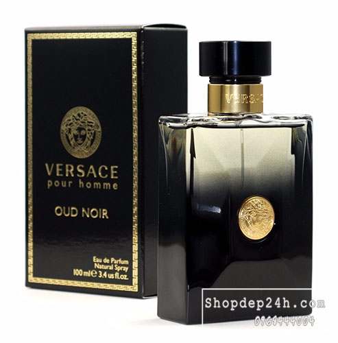 [Versace] Nước hoa nam Versace Pour Homme Oud Noir 100ml