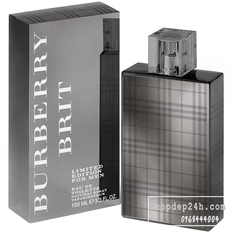 [Burberry Brit] Nước hoa nam Burberry Brit Edition For Men 100ml