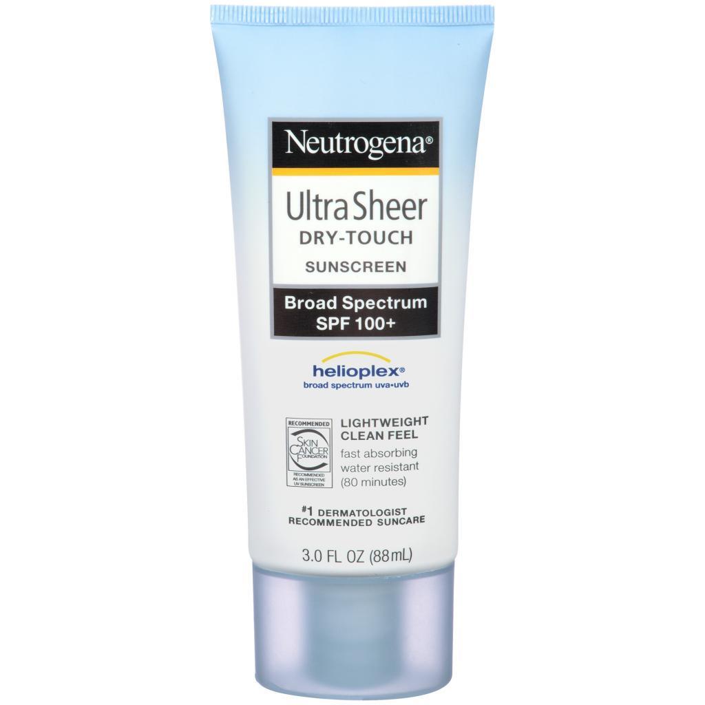 [NEUTROGENA] Kem chống nắng Ultra Sheer Dry-Touch Sunscreen Broad Spectrum UVA/UVB SPF 100+