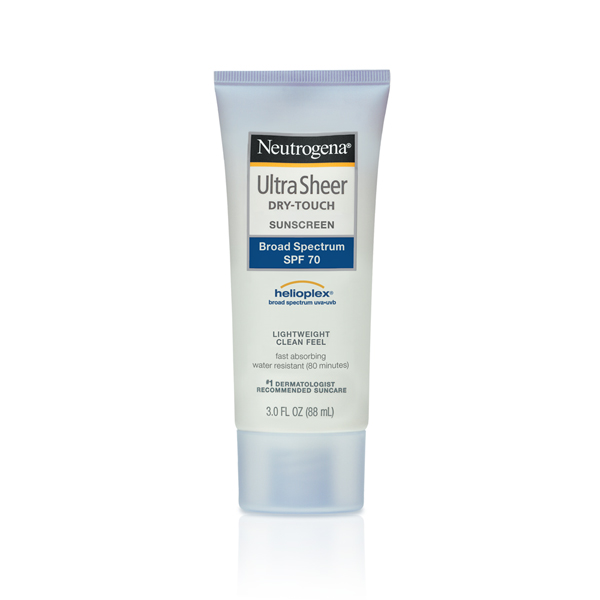 [Neutrogena] Kem chống nắng Ultra Sheer Dry-Touch Sunscreen Broad Spectrum UVA/UVB SPF 70