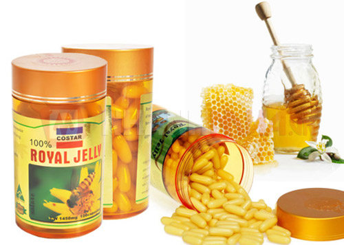 [Costar] Sữa Ong Chúa Úc Costar Royal Jelly 1450mg - 365 viên