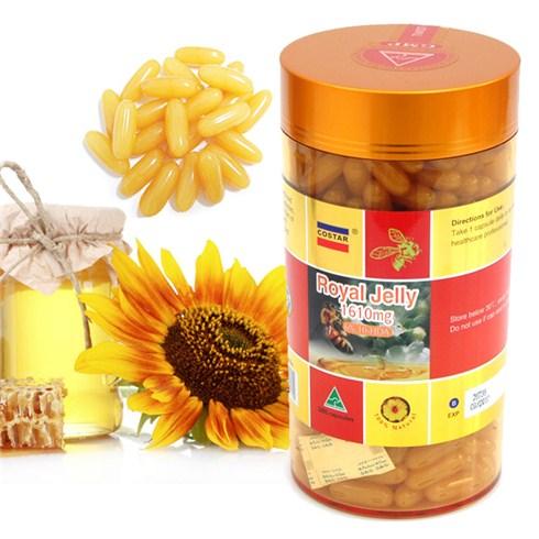 [Costar] Sữa ong chúa Úc  Royal Costar Jelly 365 viên (1610mg  + 6% 10-HDA)