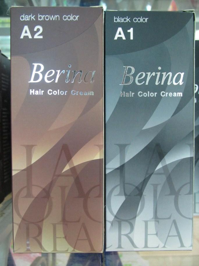 Nhuộm tóc Thái Lan Berina A1&A2