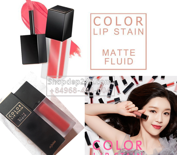 Son kem lì A'pieu Color Lip Stain Matte Fluid