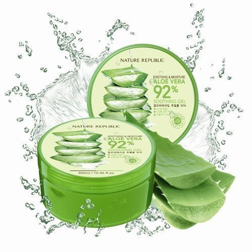 Gel lô hội Nature Republic Aloe Vera 92% Soothing Gel 300ml