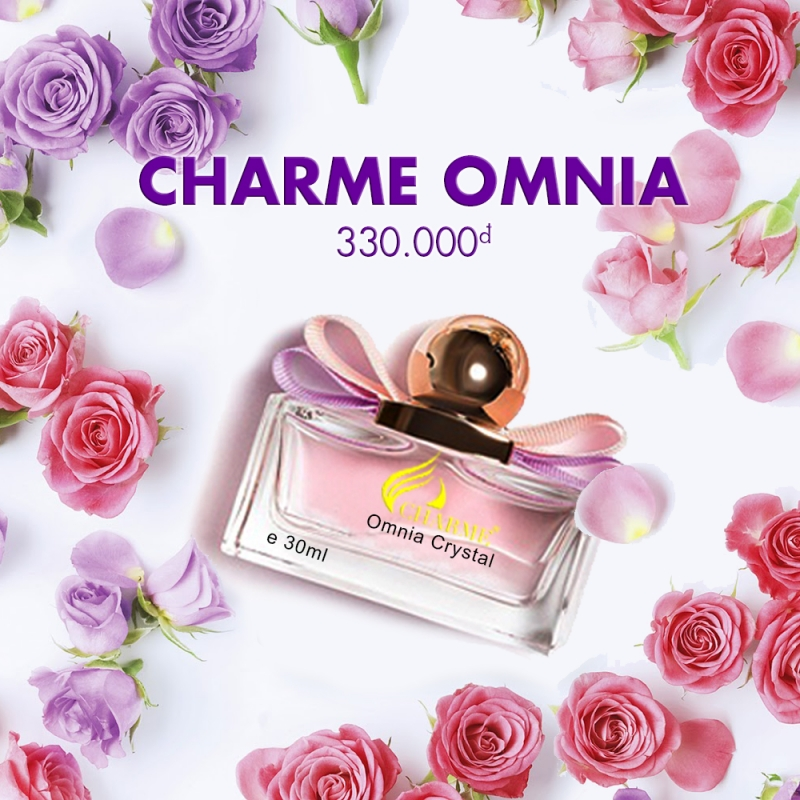[Charme] Nước hoa nữ Charme Omnia Crystal 30ml