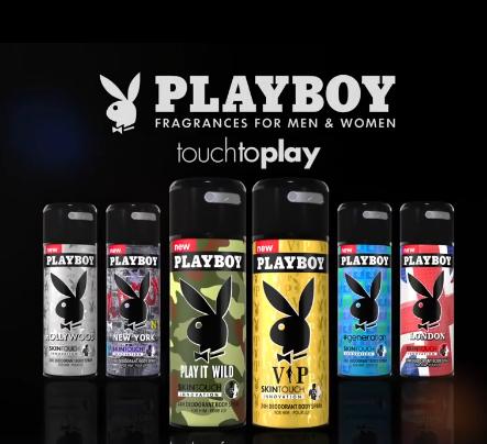 Xịt khử mùi toàn thân nam Playboy 24h Parfum 150ml