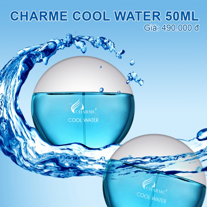 [Charme] Nước hoa Charme Cool Water 50ml