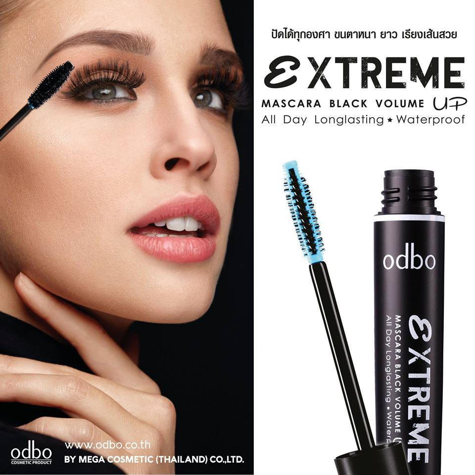 [Odbo] Mascara Odbo extreme volume and longlasting