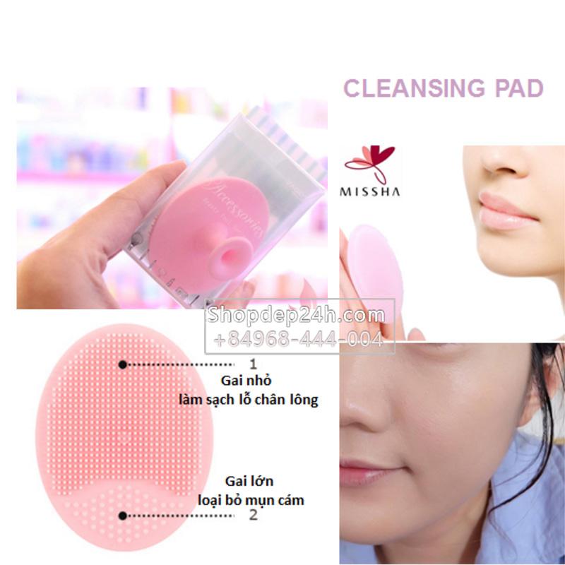 [Missha] Miếng rửa mặt sạch cleansing pad của Missha