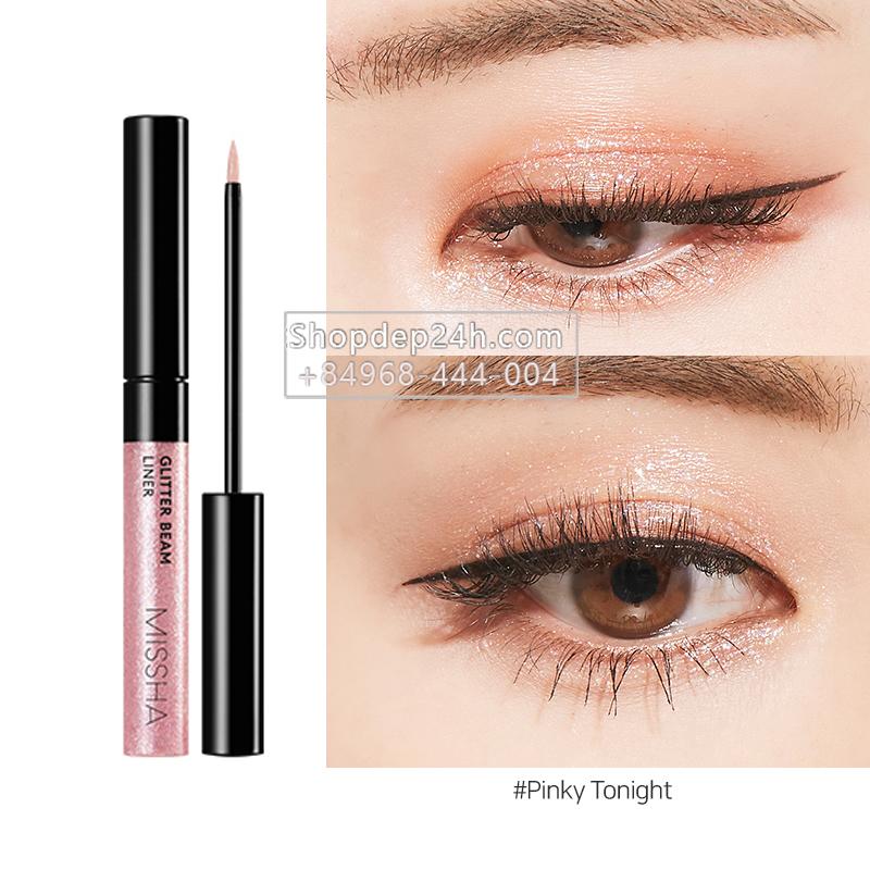 [Missha] Nhũ kẻ mắt Glitter Beam Liner - 4.3g