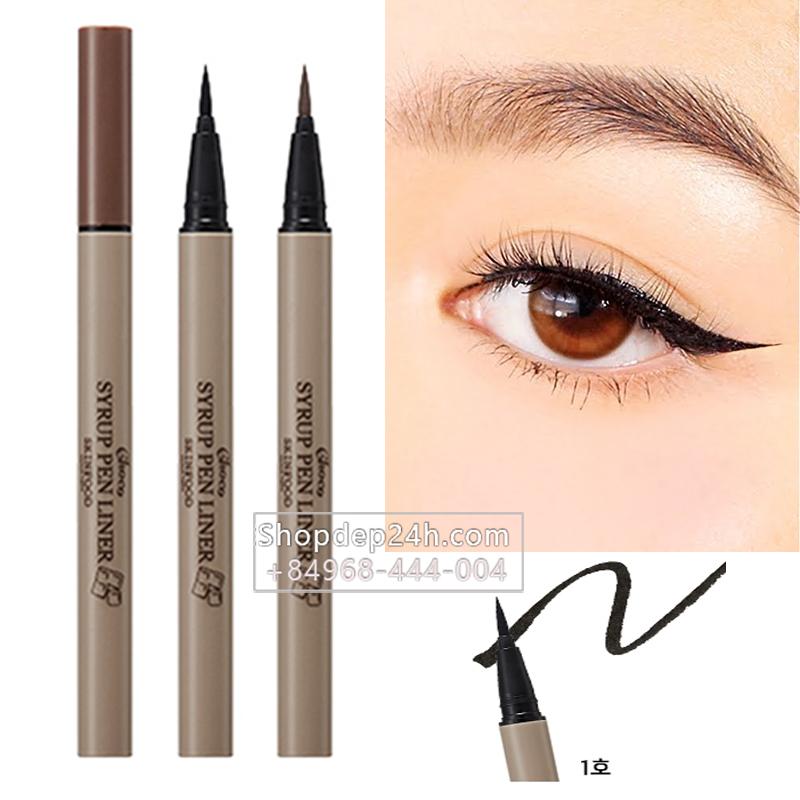 [Skinfood] Kẻ mắt kẻ dạ Skinfood Choco Syrup Pen Liner 0.5g