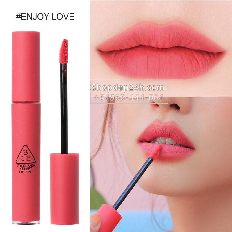 [3CE] Son 3ce Velvet Lip Tint #Enjoy Love