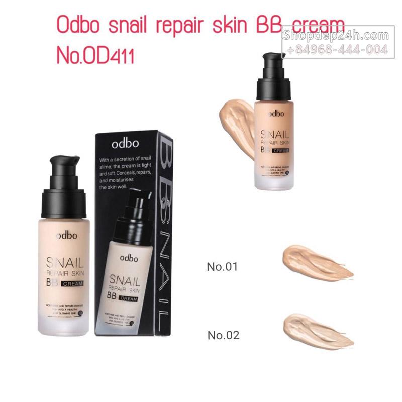 [Odbo] Kem Nền ốc sên BB Cream Odbo Snail Repair Skin