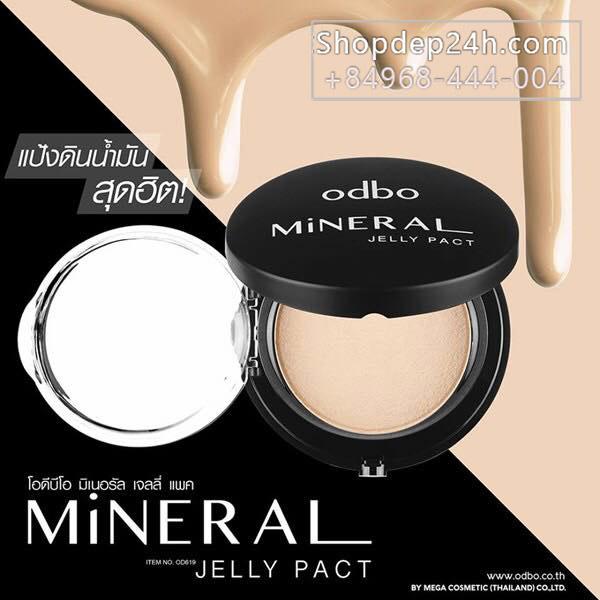 [Odbo] Phấn tươi Odbo Mineral Jelly Pact 13g OD619