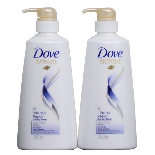 [Dove] Dầu gội Dove 480ml phục hồi tóc hư tổn Thái Lan