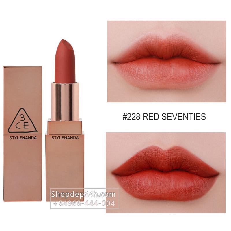 [3CE] Son thỏi 3CE Matte Lip Color #228