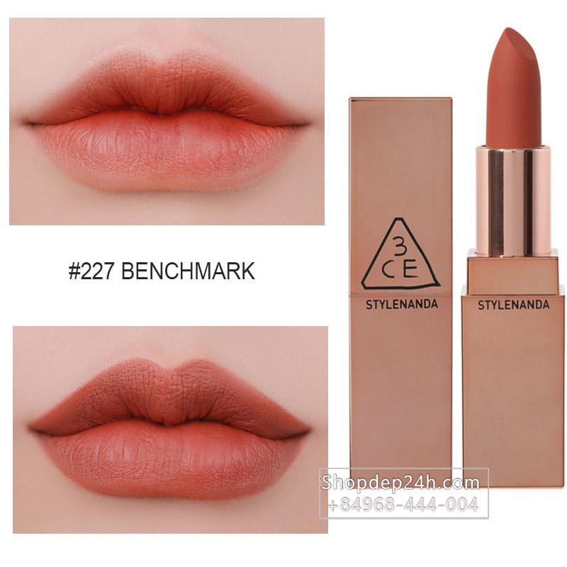 [3CE] Son thỏi 3CE Matte Lip Color #227