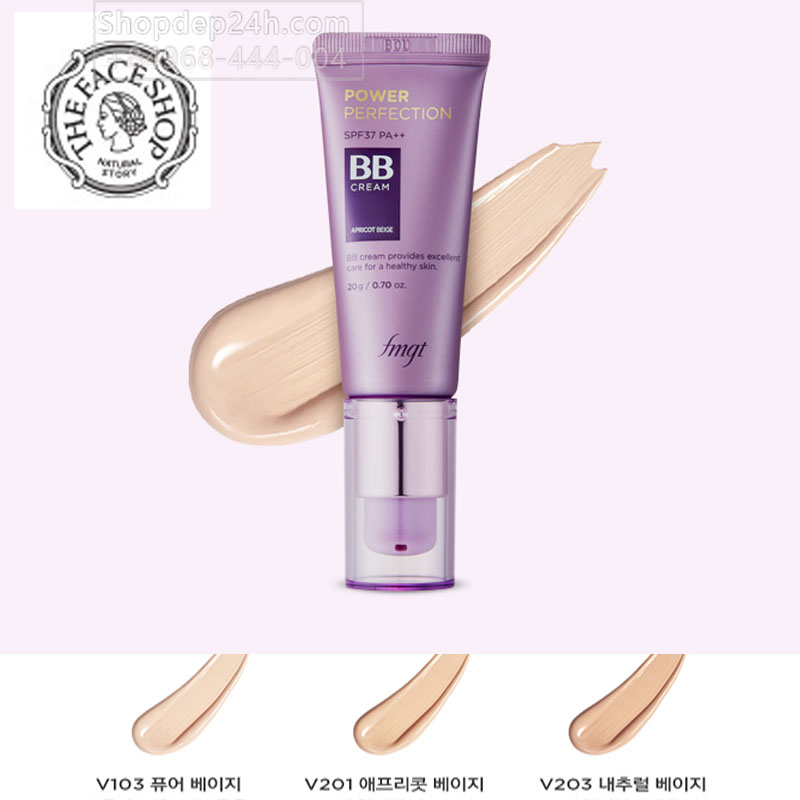 [The Face Shop] BB The Face Shop fmgt Power Perfection BB Cream 20ml mới