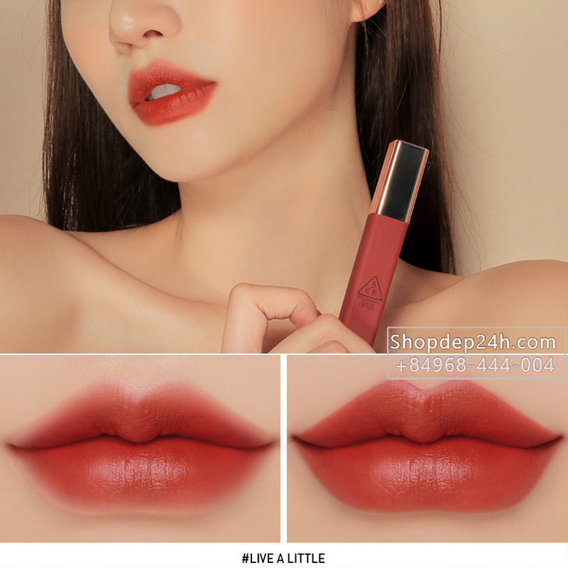 [3CE] Son kem 3CE Cloud Lip Tint #Live A Little
