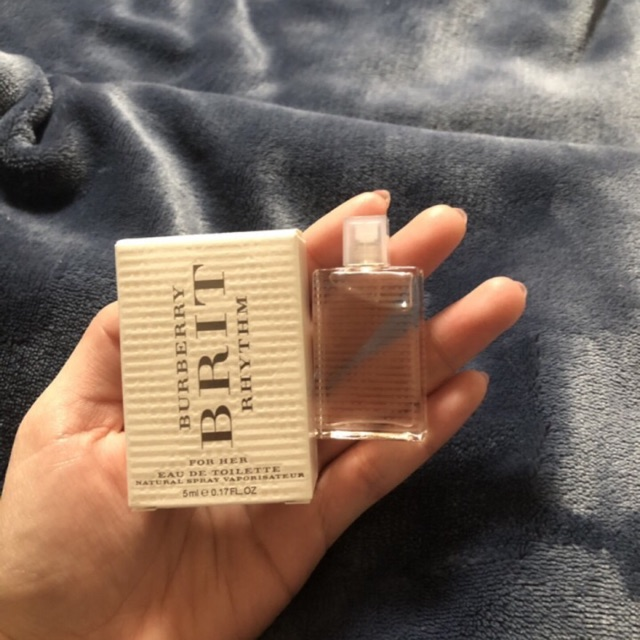 [Burberry] Nước hoa mini nữ Burberry Brit Rhythm Floral 5ml EDT