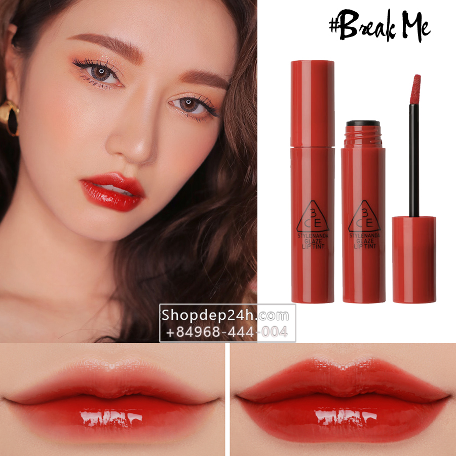 [3CE] Son 3CE Glaze Lip Tint #Break Me