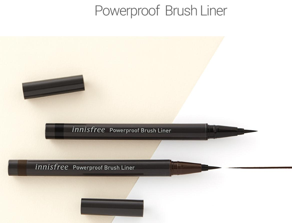 [Innisfree] Bút kẻ mắt chống thấm nước Innisfree Powerproof Brush Liner