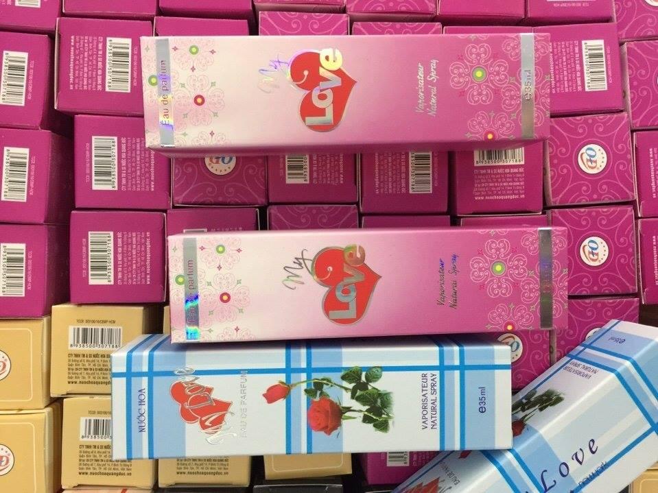 Nơi bán nước hoa my love 35ml,40ml,45ml.50ml sỉ lẻ giá rẻ